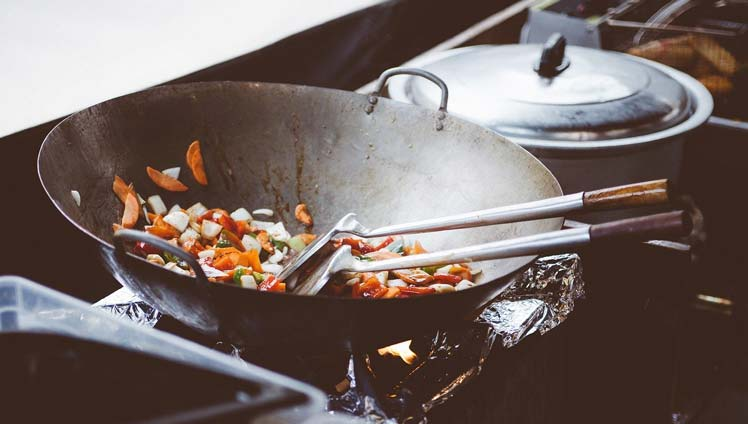 Andijvie uit de wok